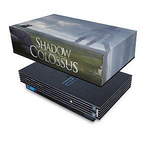 PS2 Fat Capa Anti Poeira - Shadow Colossus