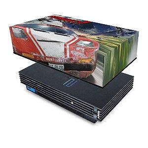PS2 Fat Capa Anti Poeira - Burnout 3