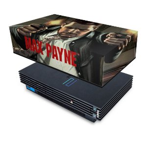 PS2 Fat Capa Anti Poeira - Max Payne
