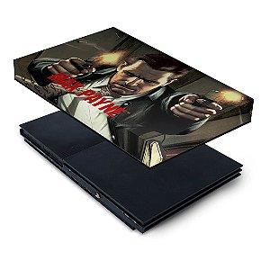 PS2 Slim Capa Anti Poeira - Max Payne