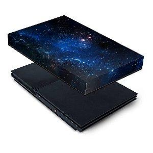 PS2 Slim Capa Anti Poeira - Universo Cosmos