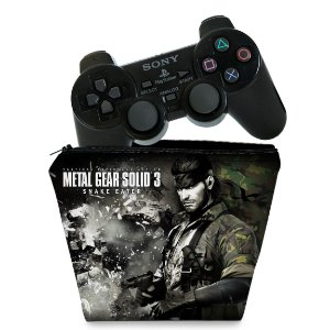 Capa PS2 Controle Case - Metal Gear Solid 3