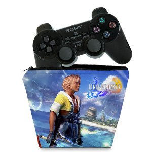 Capa PS2 Controle Case - Final Fantasy X
