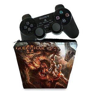 Capa PS2 Controle Case - God Of War 2 II