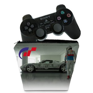 Capa PS2 Controle Case - Gran Turismo 4