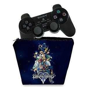 Capa PS2 Controle Case - Kingdom Hearts II 2