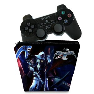 Capa PS2 Controle Case - SoulCalibur III