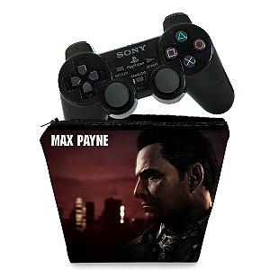 Capa PS2 Controle Case - Max Payne