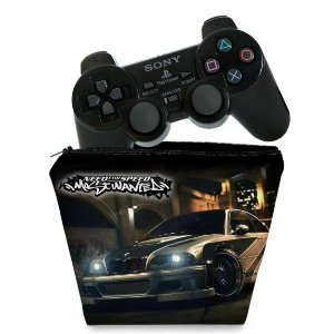 Capa PS2 Controle Case - Need for Speed: Most Wanted