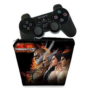 Capa PS2 Controle Case - Tekken 5