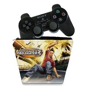 Capa PS2 Controle Case - Tony Hawks Pro Skater 3