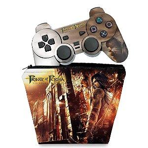 KIT Capa Case e Skin PS2 Controle - Prince Of Persia