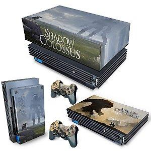 KIT PS2 Fat Skin e Capa Anti Poeira - Shadow Colossus