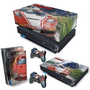 KIT PS2 Fat Skin e Capa Anti Poeira - Burnout 3