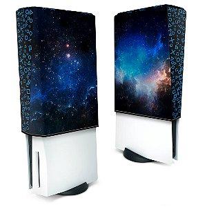 Capa PS5 Anti Poeira - Universo Cosmos