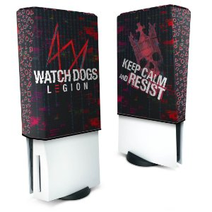 Capa PS5 Anti Poeira - Watch Dogs Legion