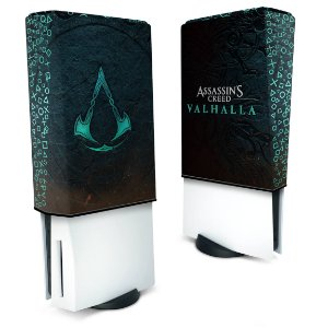 Capa PS5 Anti Poeira - Assassin's Creed Valhalla
