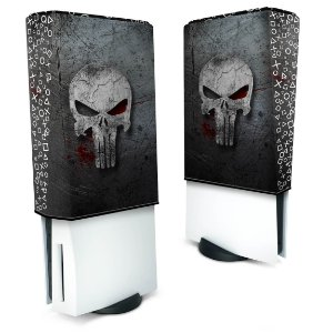 Capa PS5 Anti Poeira - The Punisher Justiceiro