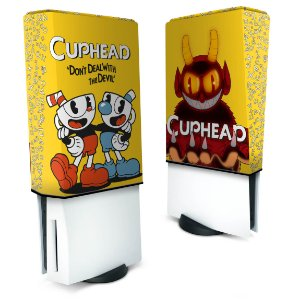 Capa PS5 Anti Poeira - Cuphead