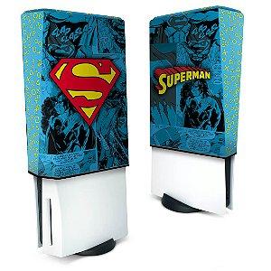 Capa PS5 Anti Poeira - Superman Comics