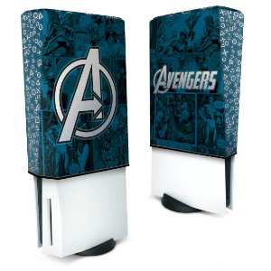 Capa PS5 Anti Poeira - Avengers Vingadores Comics