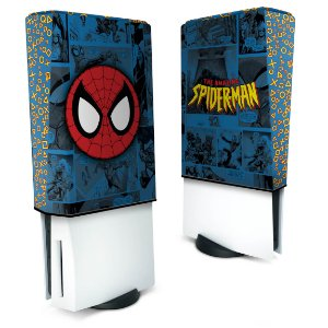 Capa PS5 Anti Poeira - Homem-Aranha Spider-Man Comics