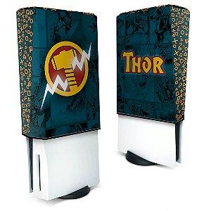 Capa PS5 Anti Poeira - Thor Comics