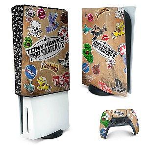 KIT PS5 Skin e Capa Anti Poeira - Tony Hawk's Pro Skater