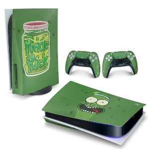 Skin PS5 - Pickle Rick And Morty