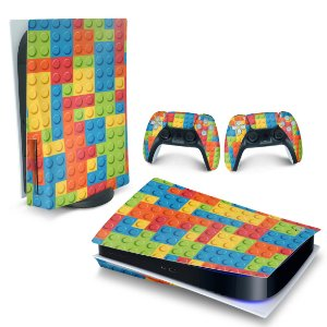 Skin PS5 - Lego Peça