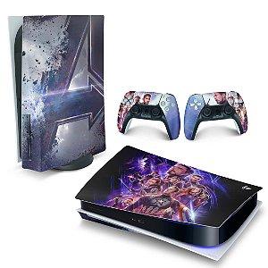 Skin PS5 - Vingadores Ultimato Endgame