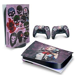 Skin PS5 - Arlequina Harley Quinn
