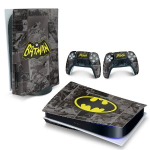 Skin PS5 - Batman Comics
