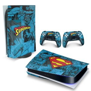 Skin PS5 - Superman Comics
