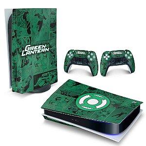 Skin PS5 - Lanterna Verde Comics