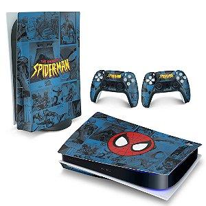 Skin PS5 - Homem-Aranha Spider-Man Comics