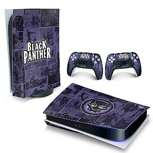 Skin PS5 - Pantera Negra Comics