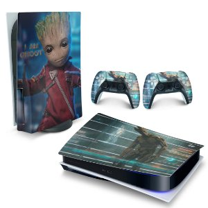 Skin PS5 - Baby Groot