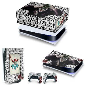 KIT PS5 Capa Anti Poeira e Skin -Joker Coringa