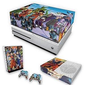 KIT Xbox One S Slim Skin e Capa Anti Poeira - Dragon Ball Z