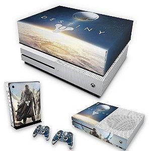 KIT Xbox One S Slim Skin e Capa Anti Poeira - Destiny