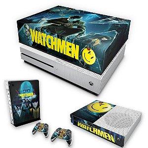 KIT Xbox One S Slim Skin e Capa Anti Poeira - Watchmen