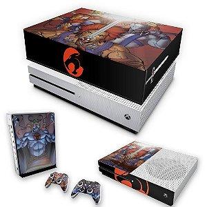 KIT Xbox One S Slim Skin e Capa Anti Poeira - Thundercats