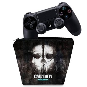 Capa PS4 Controle Case - Call Of Duty Ghosts