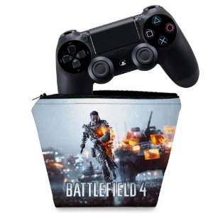 Capa PS4 Controle Case - Battlefield 4