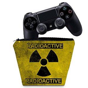 Capa PS4 Controle Case - Radioativo