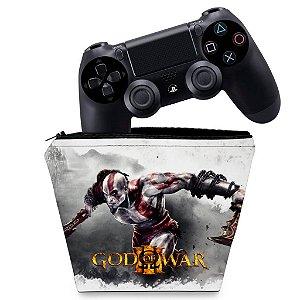 Capa PS4 Controle Case - God Of War #A