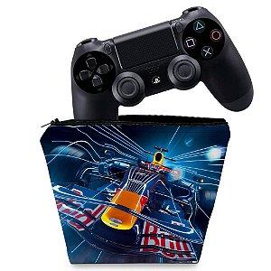 Capa PS4 Controle Case - Formula 1