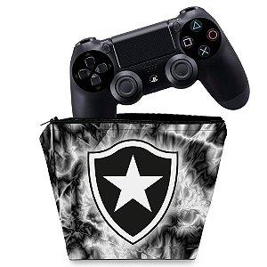 Capa PS4 Controle Case - Botafogo