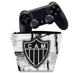Capa PS4 Controle Case - Atletico Mineiro